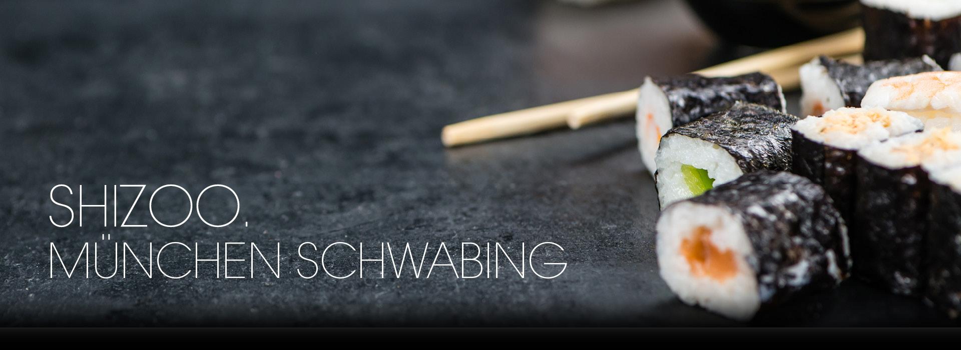 shizoo. Sushi Lieferservice München Schwabing