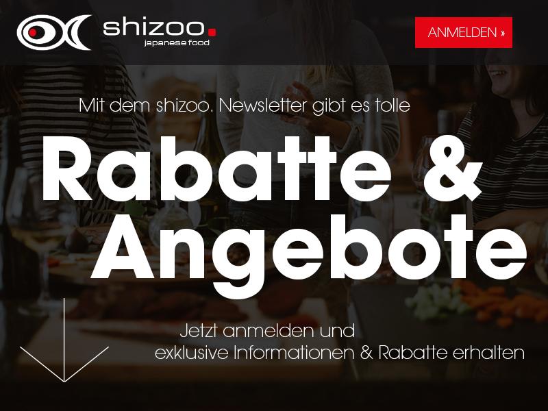 shizoo. Newsletter Anmeldung