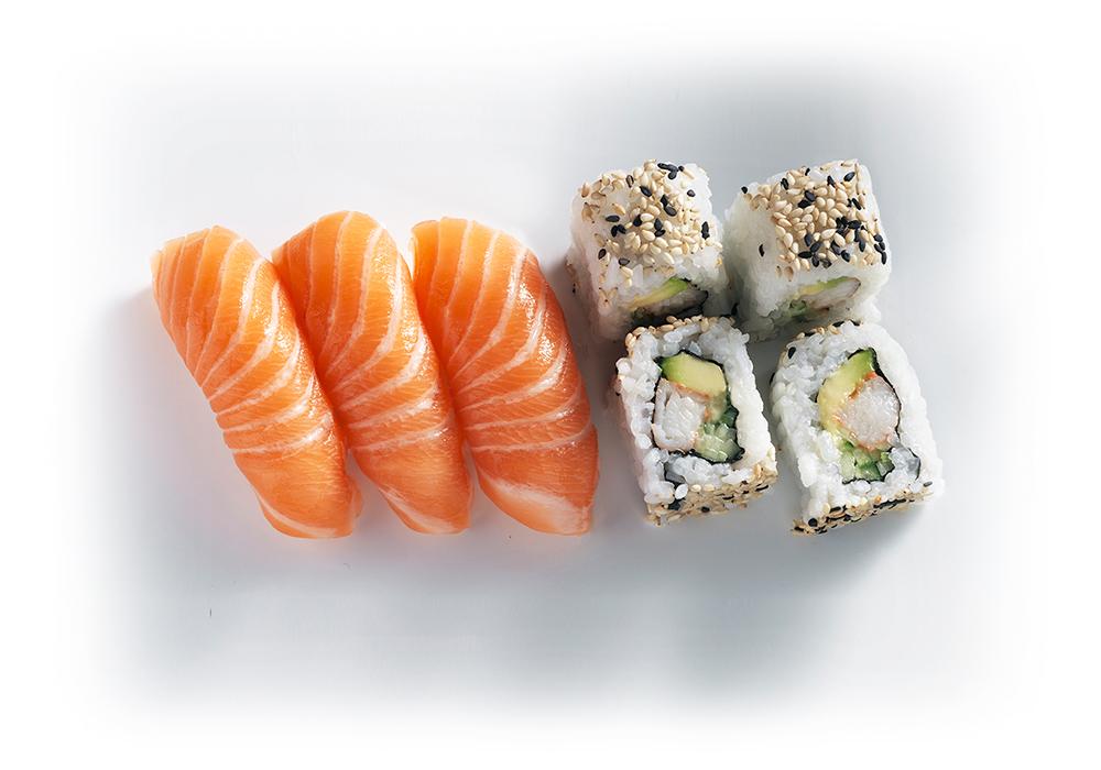 shizoo. Box Salmon Combi Sushi Lieferservice München
