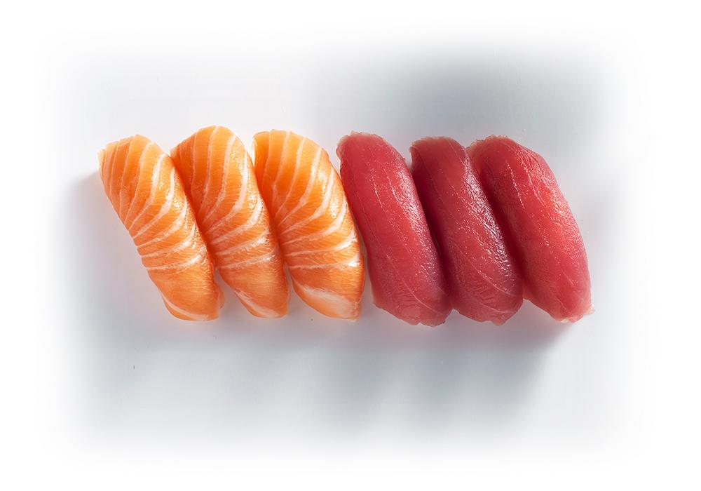 shizoo. Box Salmon Tuna Sushi Lieferservice München