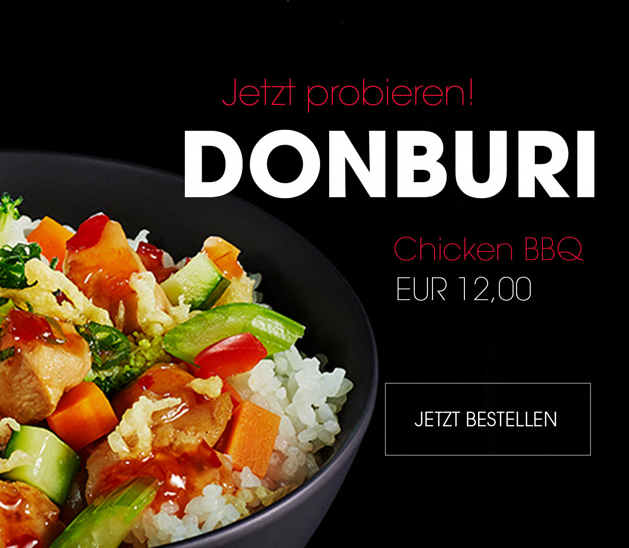 shizoo. Sushi Lieferservice München Donburi