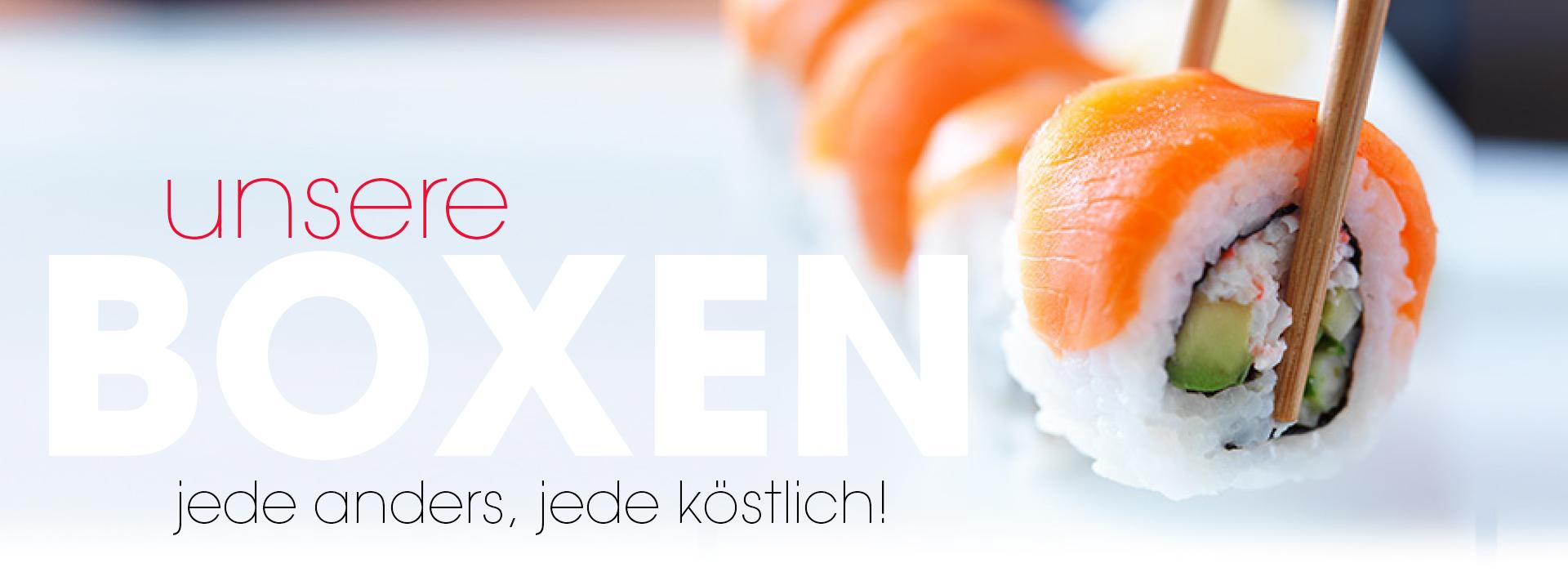 shizoo. Boxen Sushi Lieferservice München