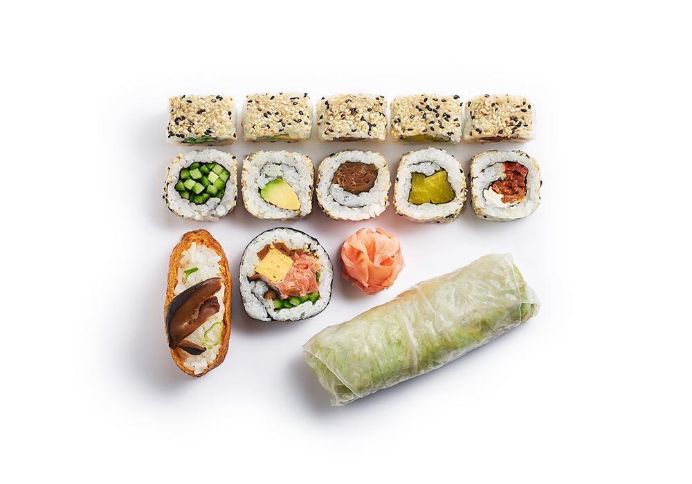 shizoo. Box Veggie Plus Sushi Lieferservice München