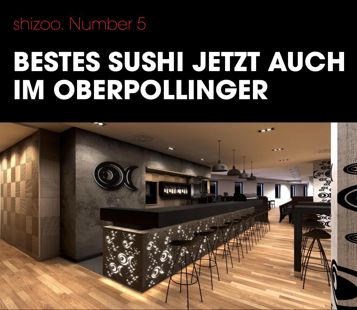 shizoo. Sushi im Oberpollinger