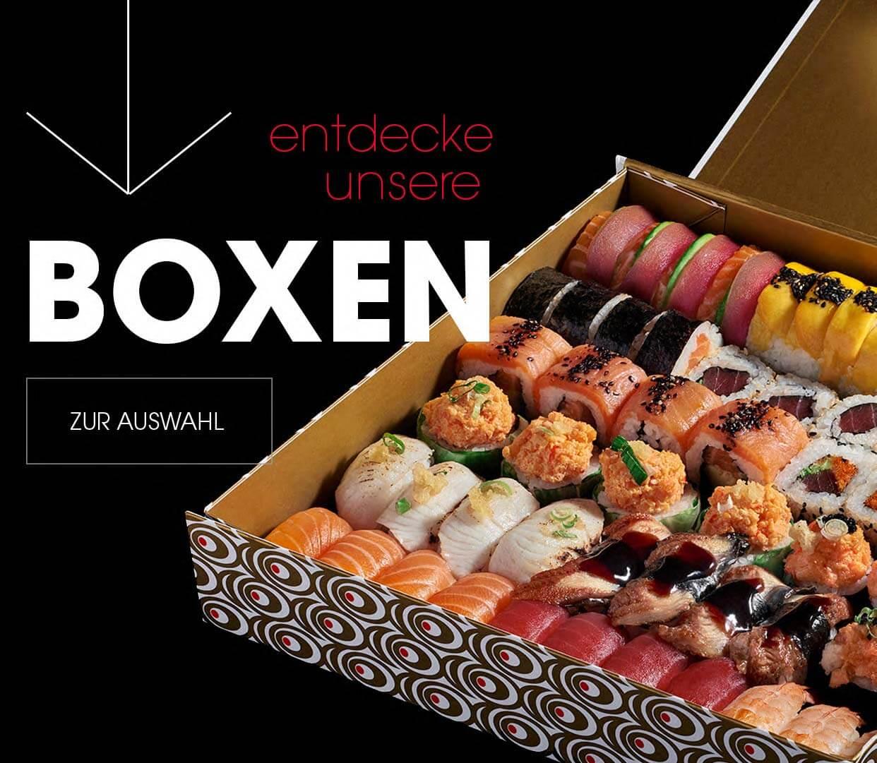 shizoo. Sushi Lieferservice München Sushi Boxen